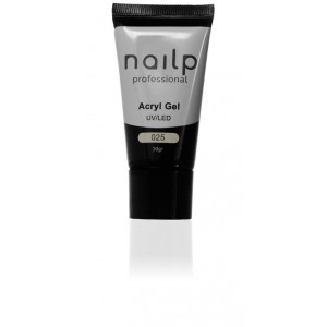 NAILP ACRYL GEL UV/LED #025 30gr