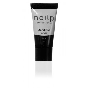 NAILP ACRYL GEL UV/LED #026 ΜΑΥΡΟ 30gr