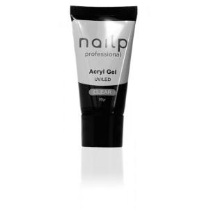 NAILP ACRYL GEL UV/LED CLEAR 30gr