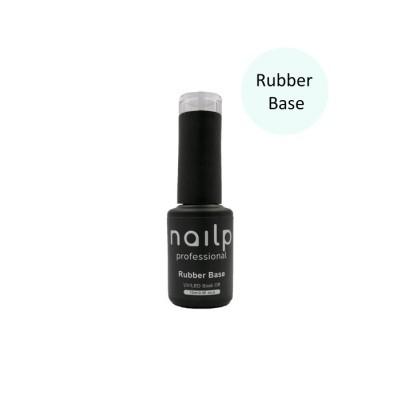 NAILP BASE RUBBER GEL SOAK OFF UV/LED CLEAR 12ml