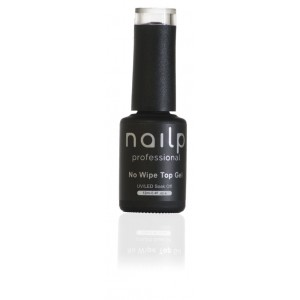 NAILP NO WIPE TOP GEL SOAK OFF UV/LED CLEAR 12ml